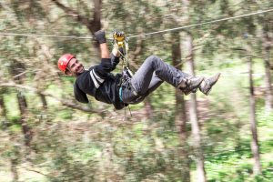 Forest Adventures South West a new tree-adventure park near Busselton - Western Australia. six courses and 65 high rope course activities with Ropes and Zip elements from tree to tree. Photos Copyright Martine Perret 0403 501 644 www.martineperret.photoshelter.com