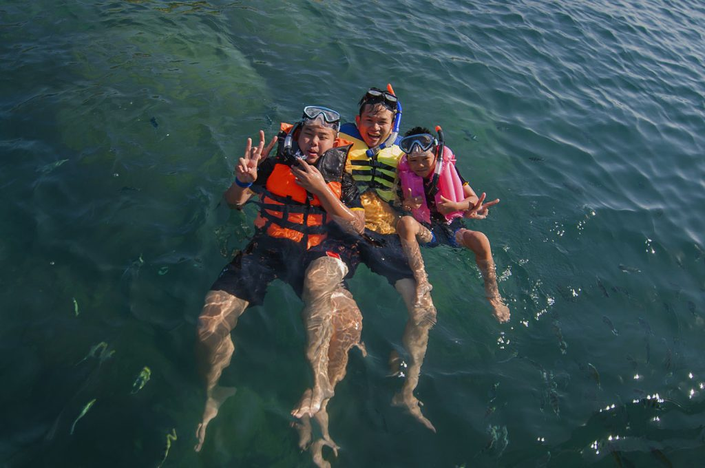 Family Snorkelling